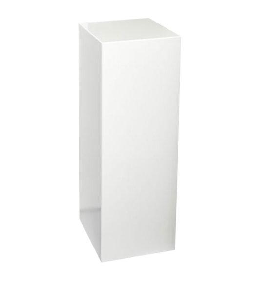 Witte zuil 30 x 30 x 100 cm hier bestellen
